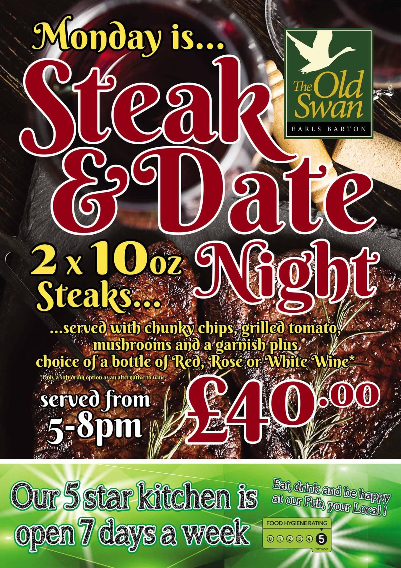 steak and date night