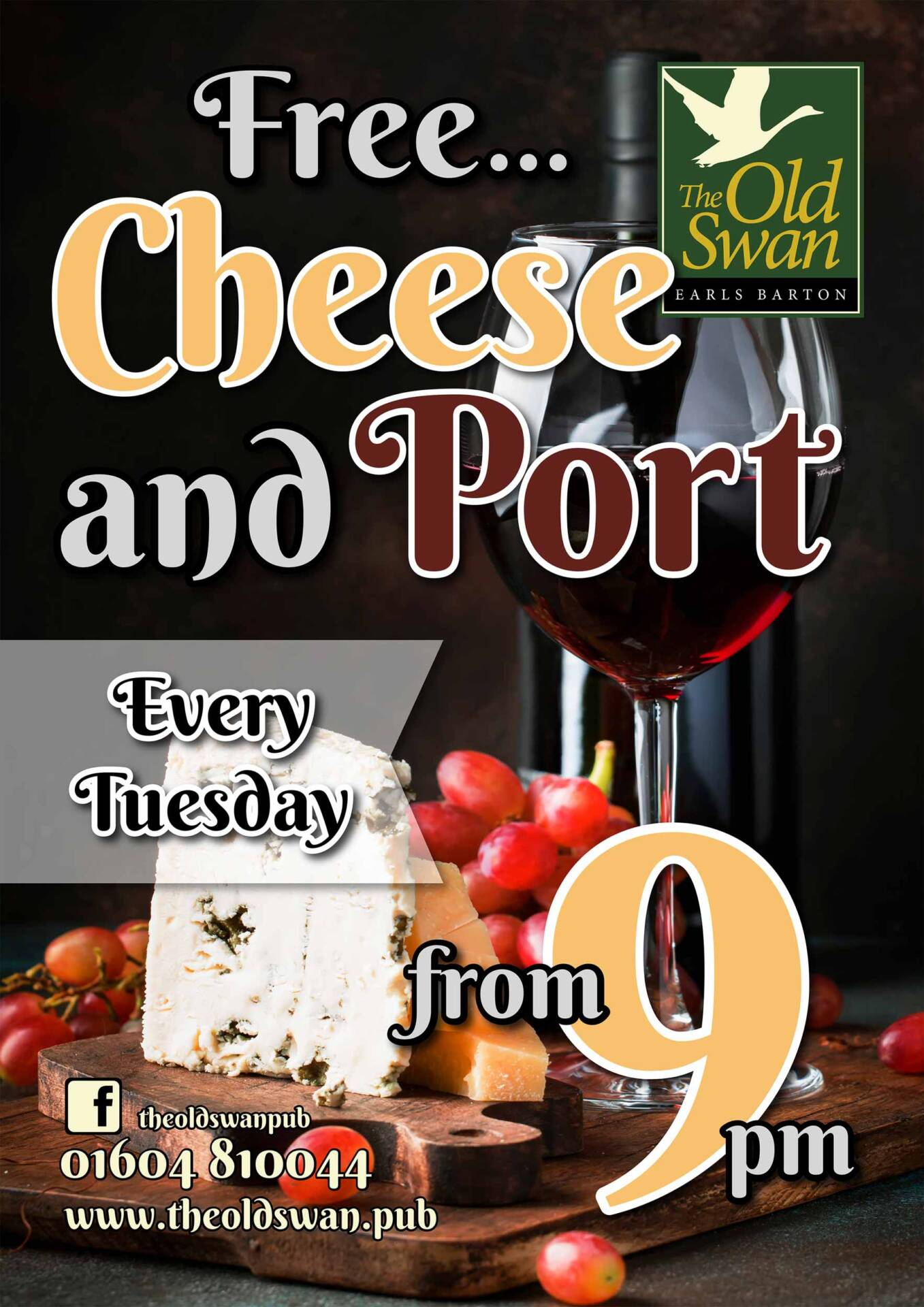 cheese and port night